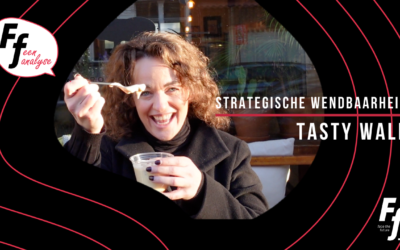 # Vlog 9 Tasty Walk & Strategische wendbaarheid